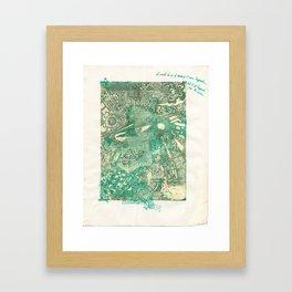 Second Narrows Framed Art Print