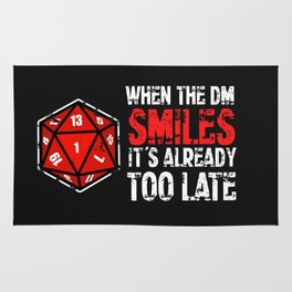 When the Dungeon Master smiles... Rug