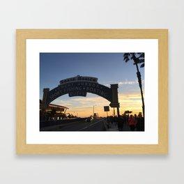 Summer Nights 1 Framed Art Print