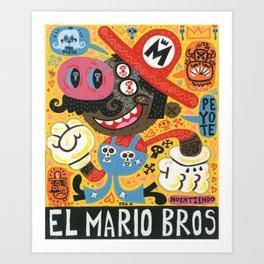El Plomero Art Print