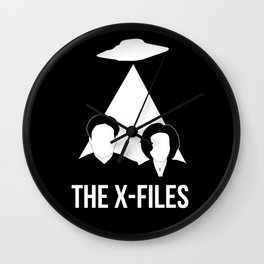 MULDER SCULLY FILES Wall Clock