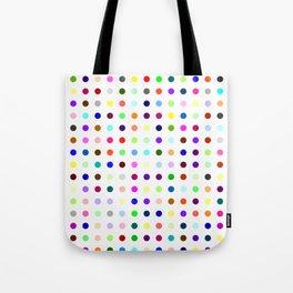 Big Hirst Polka Dot Tote Bag