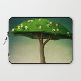 A umbrella  single flowering tree Laptop Sleeve
