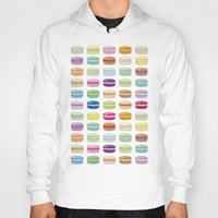 macaroons Hoodies featuring Colorful macaroon set by MiartDesignCreation