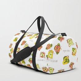 go vegan! Duffle Bag
