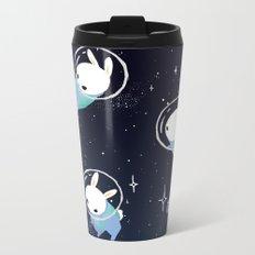 Space Bunnies Metal Travel Mug