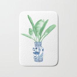Ginger Jar + Bird of Paradise Bath Mat
