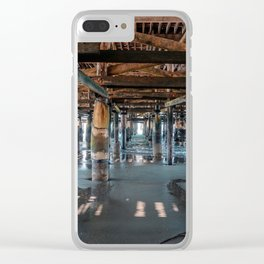 Below the Pier Clear iPhone Case