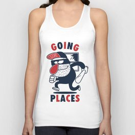 Going Places. Unisex Tank Top