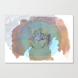 No Greater Security Canvas Print