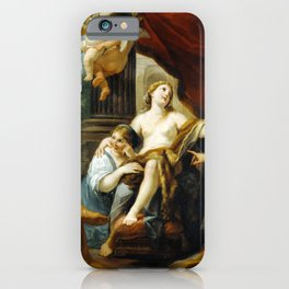 Luigi Garzi Hercules and Omphale iPhone Case