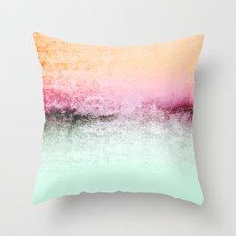 SUNDREAMER MINT Throw Pillow