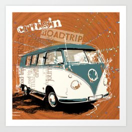 cruisin Art Print