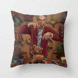 Becoming a Real Bear Throw Pillow