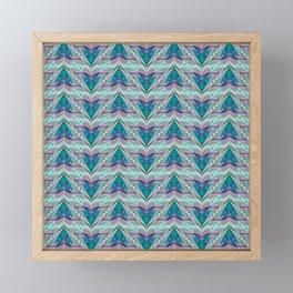 Fish tales 1b Framed Mini Art Print