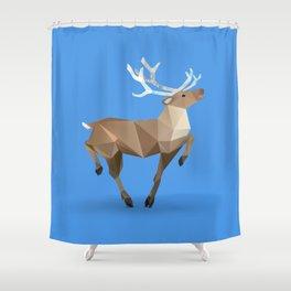 Reindeer. (Prancer) Shower Curtain