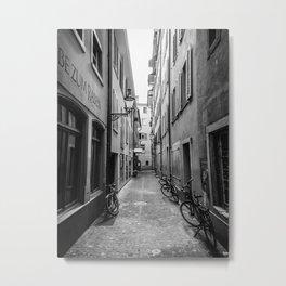 European Stroll Metal Print