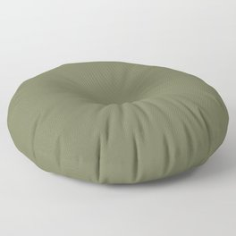 Pine Needle Green Solid Color Pairs With Behr Paint's 2020 Forecast Trending Color Secret Meadow Floor Pillow
