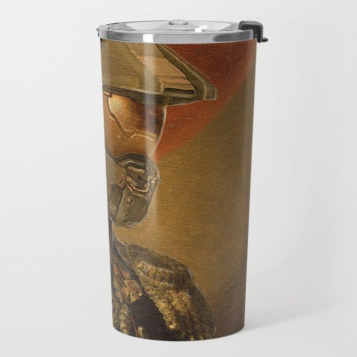 Halo Master Chief Spartan 117 Class Photo General Painting Fan Art Travel Mug