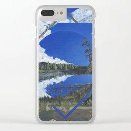Grand Mesa Polyscape Clear iPhone Case