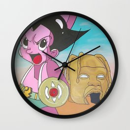 AstroBoy in AstroWorld Wall Clock
