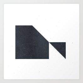 #005 White Art Print
