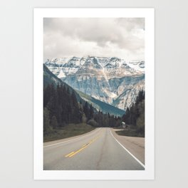 Mount Robson in Cananda - Travel Print Canada - Photography Wall Art  Art Print