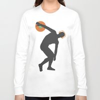 nicki Long Sleeve T-shirts featuring Vinylbolus by Sitchko Igor