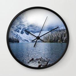 Wild Winter Wall Clock