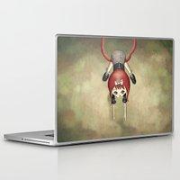 shit Laptop & iPad Skins featuring Well... shit. by Schwebewesen • Romina Lutz