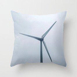Wind generator Throw Pillow