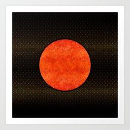 """Black Moon Sabana"" Art Print"