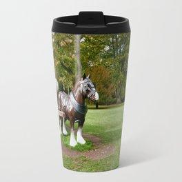 The Waddesdon Horse Travel Mug