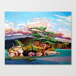 Juniper Islet by Amanda Martinson Canvas Print
