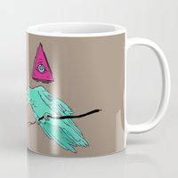 occult Mugs featuring occult raven by Ewa Pacia