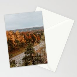 Arcadia Overlook in Fall Stationery Cards