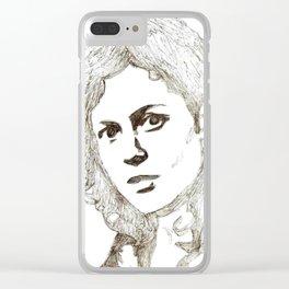 Ellen Ripley sketch- Sigourney Weaver- Alien Clear iPhone Case