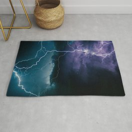 Lightning Strikes Rug