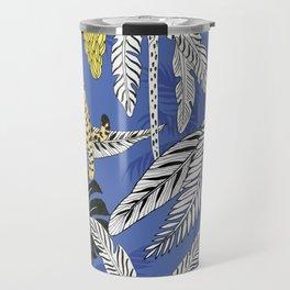 jungle marker pattern Travel Mug