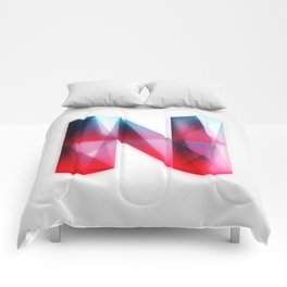 The Letter N Comforters