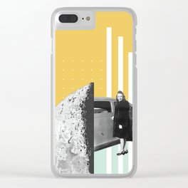 Riding In Cars Clear iPhone Case
