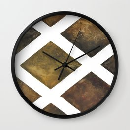 Gold Strike Wall Clock