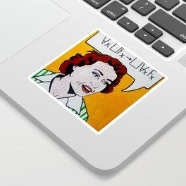 Ruth Barcan Marcus Sticker