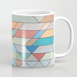 Triangle Pattern no.2 Colorful Coffee Mug