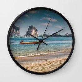 Pak Meng Beach Thailand Wall Clock
