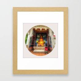 Buddha Shrine #4 Framed Art Print