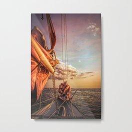 Sail on Spirit of Buffalo Metal Print