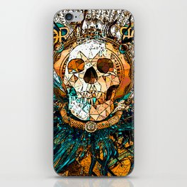 Old Skull iPhone Skin
