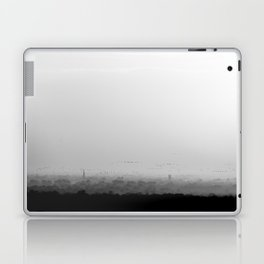 The Old City - Black and White Laptop & iPad Skin