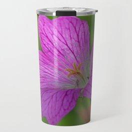 Pink Cranesbill Geranium 1 Travel Mug